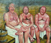 Menschen, Sauna, Fleisch, Akt