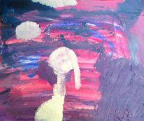 Abstrakt, Gedankenwelt, Malerei