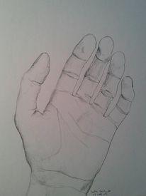 Hand, Zeichnung, Malerei