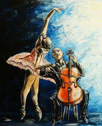 Malerei, Einklang, Leidenschaft