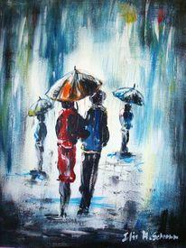 Acrylmalerei, Malerei, Regen
