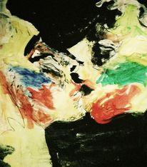 Lippen, Liebespaar, Sehnsucht, Farben