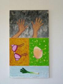 Rahmen, Acrylmalerei, 2013, Malerei