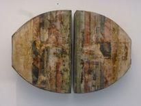 Guss, Pigmente, Beton, Skulptur