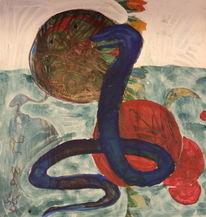Malerei, Schlange