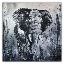 Malerei, Struktur, Tiere, Schatten