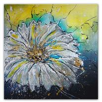 Blumen, Malerei, Dekoration, Margerite