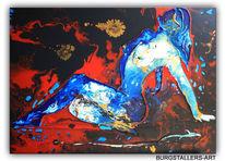 Körper, Acrylmalerei, Abstrakte kunst, Moderne kunst