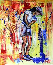 Gemälde, Golfturnier preise, Dekoration, Golfspiel