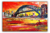 Sydney, Harbour bridge, Skyline sydney, Stadt