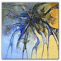 Acrylmalerei, Wandbilder, Moderne kunst, Abstrakte kunst