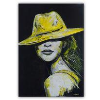 Wandbild, Handgemalte, Portrait, Menschen