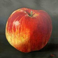 Rot, Mit stil, Realismus, Roter apfel