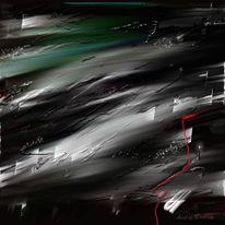 Welt, Acrylmalerei, Traum, Zwei welten