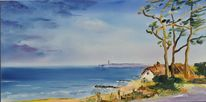 Ostsee, Darß, Ahrenshoop, Malerei