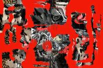 Politik, Hyperrealismus, Wissenschaft, Digitale kunst