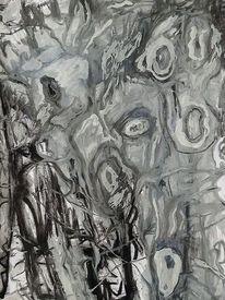 Malerei, Befindlichkeit, Ausdruck, Mischtechnik