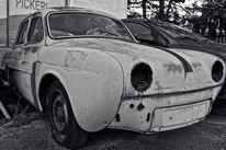 Oldtimer, Auto, Konzept, Menschen