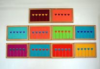 Formen, Farben, Ölmalerei, Symbol