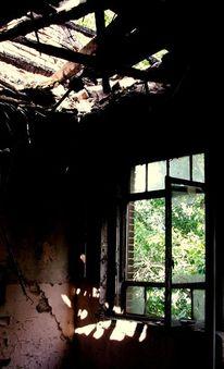 Zerbrechen, Vergangenheit, Ruine, Verlassen