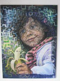 Ölmalerei, Freundlich, Surreal, Verzierung