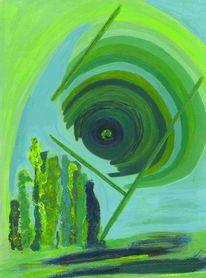 Aufstieg, Figur, Experimente, Grün
