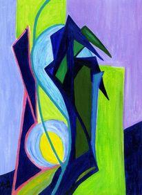 Figural, Lila, Modern, Assoziation