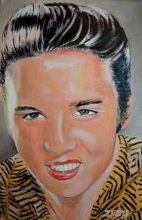 Erlkönig, Elvis presley, Malerei, Elvis