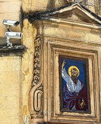 Kamera, Altstadt, Ikonen, Überwachung