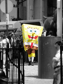 Gelb, Manhattan, Sponge bob, New york