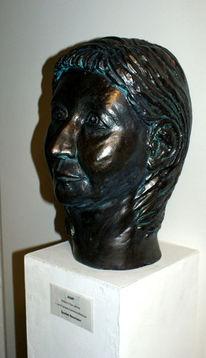 Büste, Kopf, Portrait, Plastik