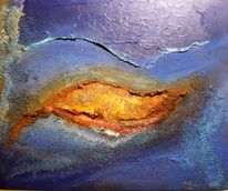 Universum, Geburt, Welt, Malerei