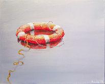Wasser, Schwimmen, Acrylmalerei, Maritim