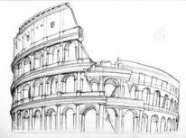 Colosseum, Rom, Malerei