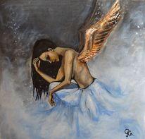 Malerei, Fallen, Angel