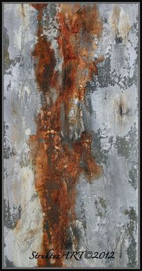 Marmormehl, Pigmente, Beize, Zeitgenössische kunst