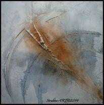 Marmormehl, Zeitgenössische kunst, Beize, Malerei