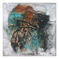 Aquarellmalerei, Sumpfkalk, Granulat, Marmormehl