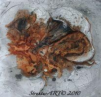 Marmormehl, Pigmente, Tusche, Zeitgenössische kunst