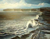 Meer, Ozean, Felsen, Wasser