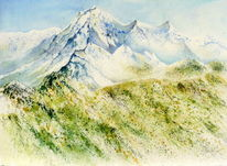 Tirol, Landschaft, Frühling, Berge