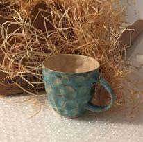 Tasse, Töpferei, Glasur, Keramik
