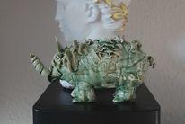 Skulptur, Ton, Glasur, Keramik