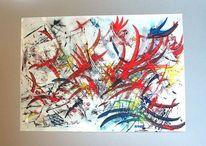 Orbit, Malerei