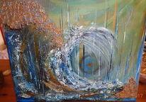 An manchen tagen, Welle, Mein gefühl, Malerei