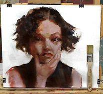 Alla prima, Ölmalerei, Farben, Gemälde