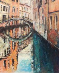 Architektur, Brücke, Stadt, Realismen