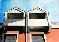 Haus, Malerei, Architektur