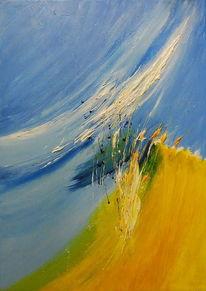 Malerei, Farben, Acrylmalerei, Mischtechnik