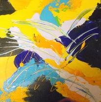 Schwarz, Farben, Acrylmalerei, Malerei